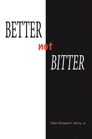 Better Not Bitter - cover