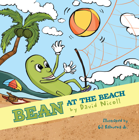 Bean at the Beach - cover