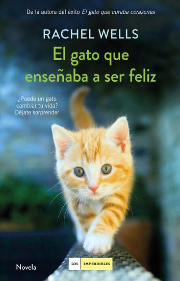 El gato que enseñaba a ser feliz - cover