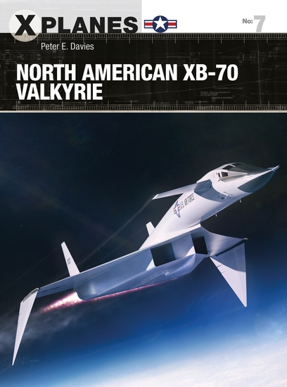North American XB-70 Valkyrie - cover