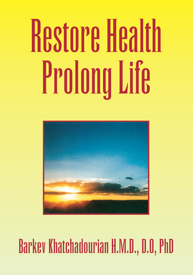 Restore Health Prolong Life - cover