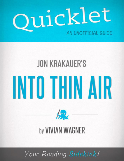 an analysis of the book into thin air by jon krakauers