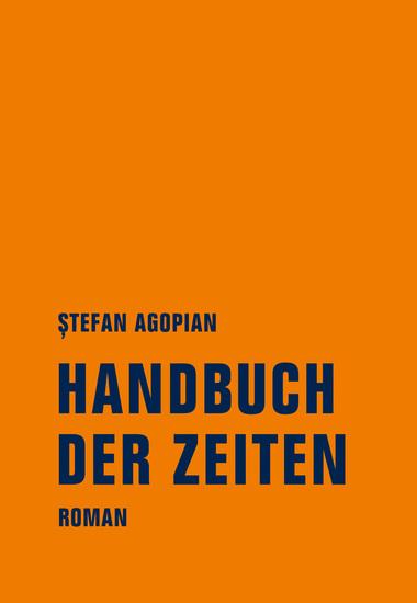 Handbuch der Zeiten - Roman - cover