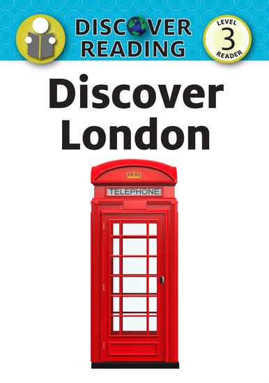 Discover London - Level 3 Reader - cover