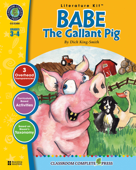 Babe: The Gallant Pig (Dick King-Smith) - cover