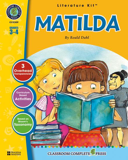 Matilda (Roald Dahl) - cover