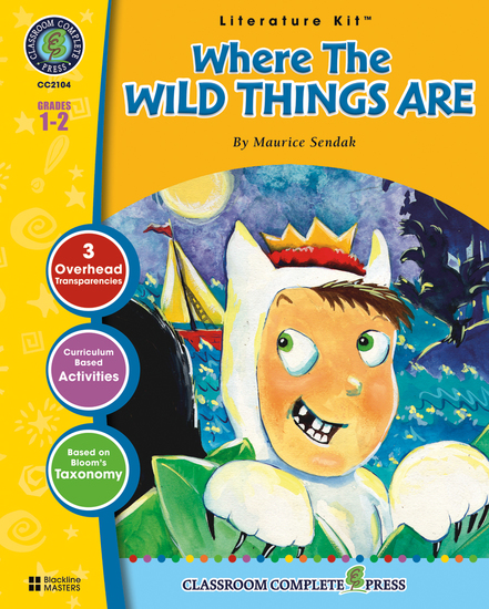 Where the Wild Things Are (Maurice Sendak) - cover