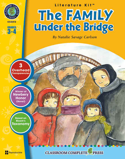 The Family Under the Bridge (Natalie Savage Carlson) - cover