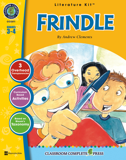 Frindle (Andrew Clements) - cover
