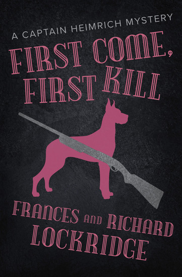 First Come First Kill - cover