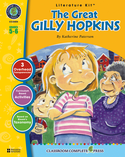 The Great Gilly Hopkins (Katherine Paterson) - cover