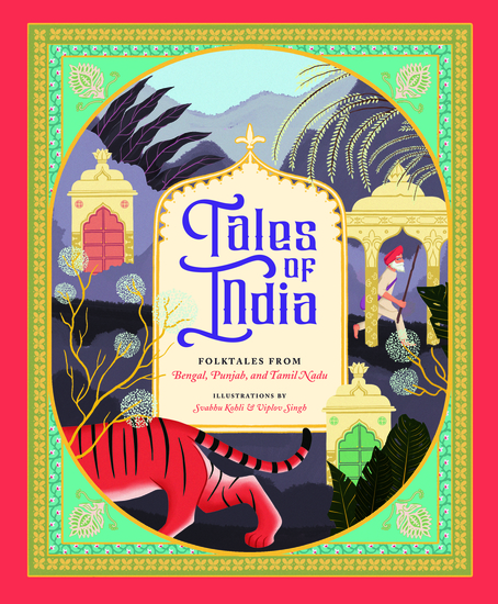 Tales of India - Folk Tales from Bengal Punjab and Tamil Nadu - cover