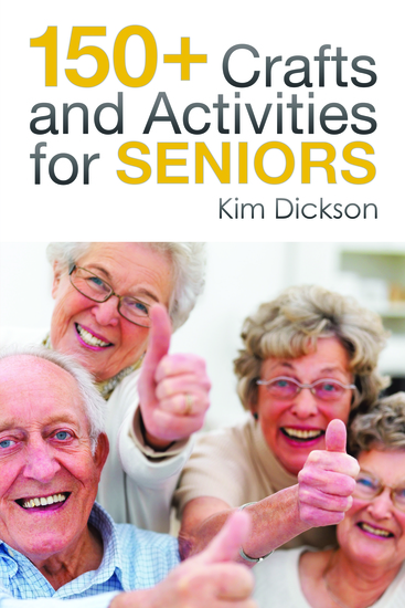 150+ Crafts and Activities for Seniors - cover