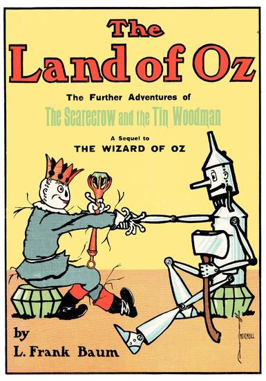 The Illustrated Land of Oz - cover