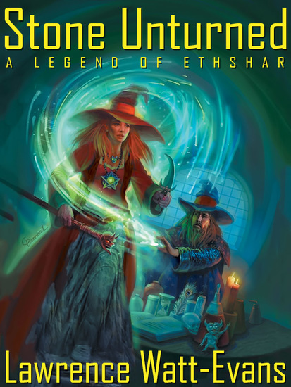 Stone Unturned: A Legend of Ethshar - cover