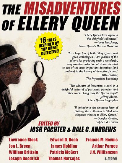 The Misadventures of Ellery Queen - cover