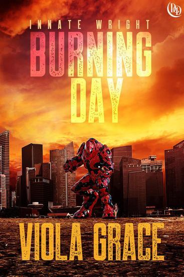 Burning Day - Innate Wright #1 - cover