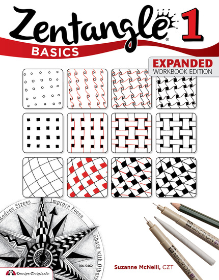 Zentangle Basics Expanded Workbook Edition - cover