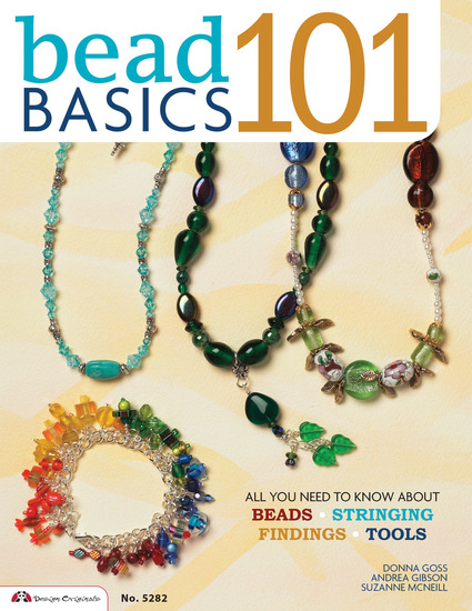 Bead Basics 101 - All You Need To Know About Beads Stringing Findings Tools - cover