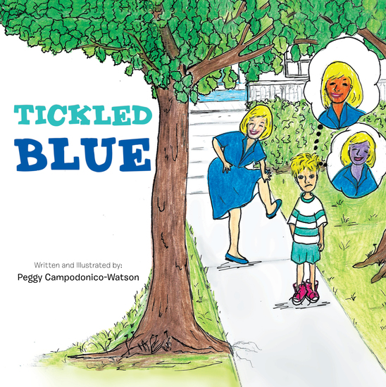 Tickled Blue - cover