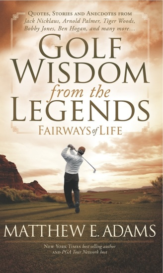 Golf Wisdom From the Legends - cover