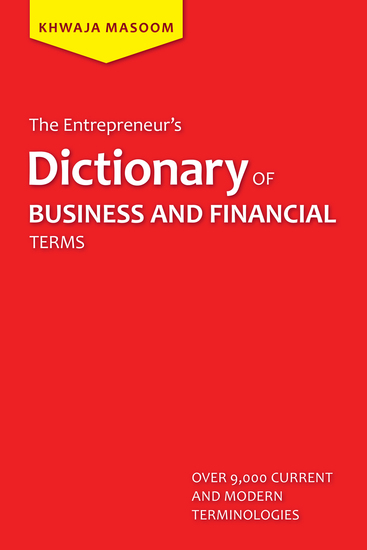 The Entrepreneur'S Dictionary of Business and Financial Terms - cover