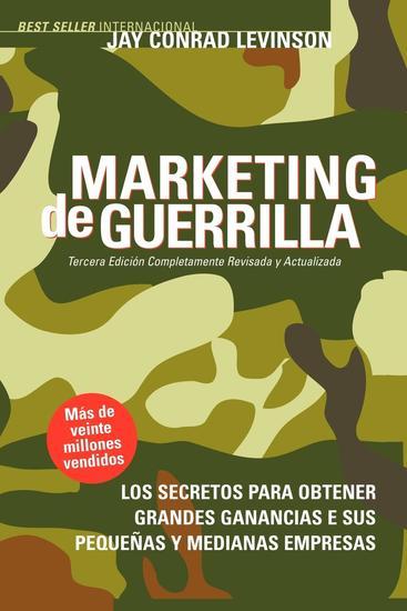 Marketing de Guerrilla - cover