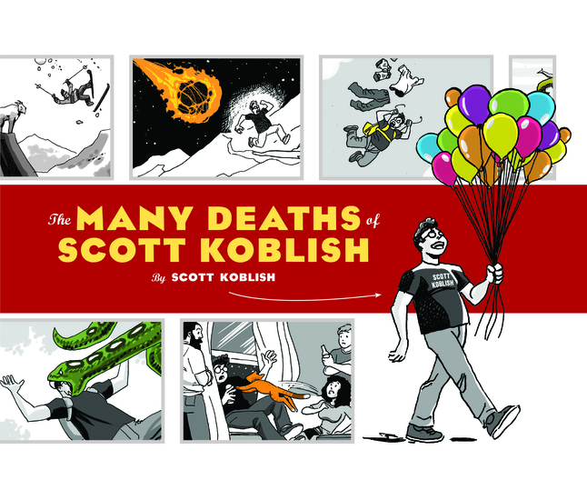 The Many Deaths of Scott Koblish - cover