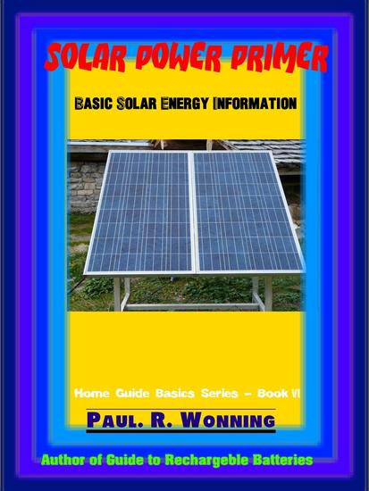 Solar Power Primer - Home Guide Basics Series #5 - cover