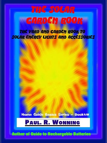 The Solar Garden Book - Home Guide Basics Series #6 - cover