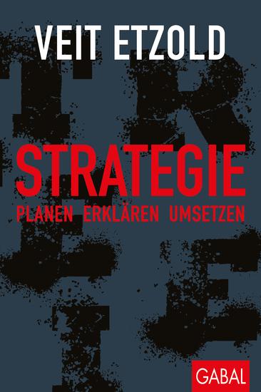 Strategie - Planen - erklären - umsetzen - cover