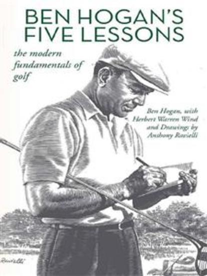 Ben Hogan's Five Lessons: The Modern Fundamentals of Golf - cover