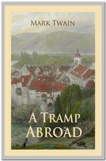 A Tramp Abroad - cover