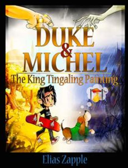 The King Tingaling Painting - American-English Edition - cover