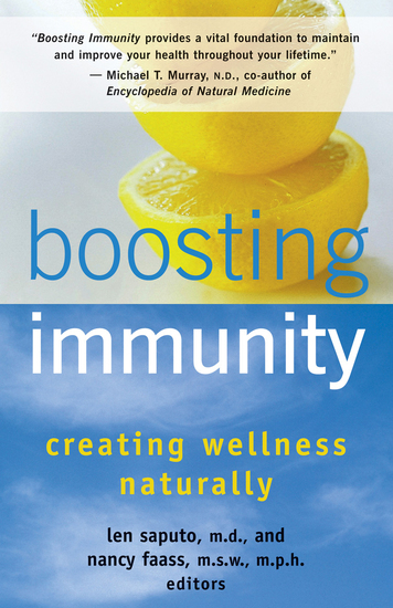 Boosting Immunity - Creating Wellness Naturally - cover