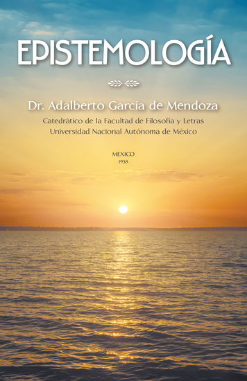 Epistemología - Teoria Del Conocimiento - cover