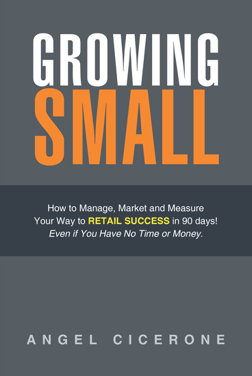 Growing Small - How to Manage Market and Measure Your Way to Retail Success in 90 Days! Even If You Have No Time or Money - cover