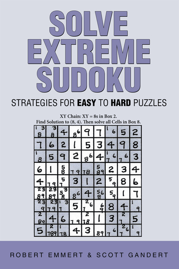 Solve Extreme Sudoku - Strategies for Easy to Hard Puzzles - cover