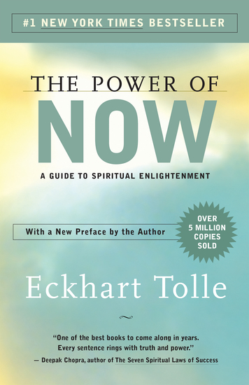 The Power of Now - A Guide to Spiritual Enlightenment - cover