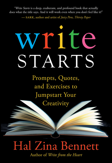 Write Starts - Prompts Quotes and Exercises to Jumpstart Your Creativity - cover