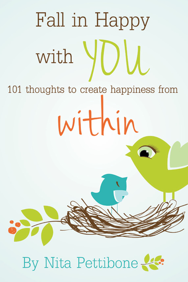 Fall in Happy with You - 101 Thoughts to Create Happiness from Within - cover