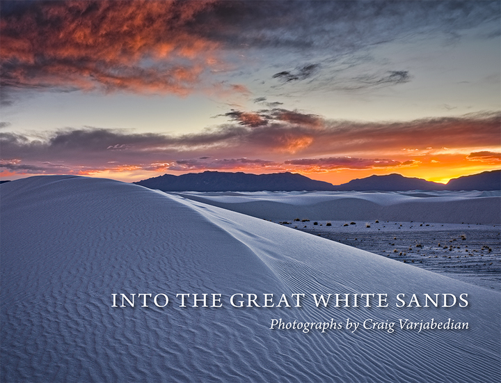 Into the Great White Sands - cover