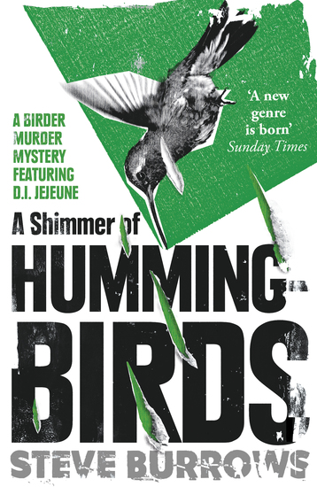 A Shimmer of Hummingbirds - Birder Murder Mystery 4 - cover