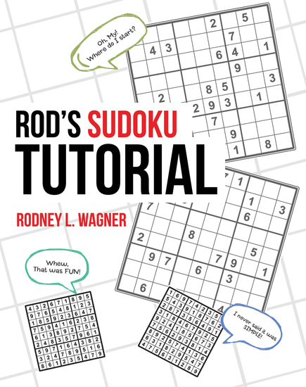 Rod'S Sudoku Tutorial - cover