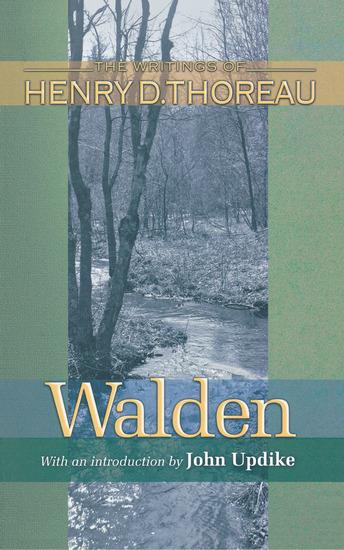 Walden (150th Anniversary Edition) - cover
