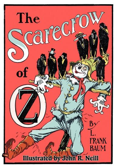 The Illustrated Scarecrow of Oz - cover