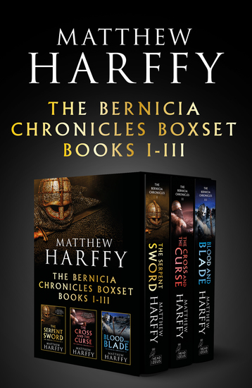The Bernicia Chronicles Boxset - I-III - cover
