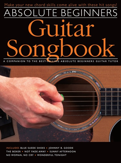 Absolute Beginners: Guitar Songbook - cover