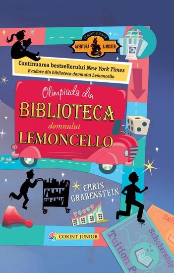 Olimpiada din Biblioteca Domnului Lemoncello - cover