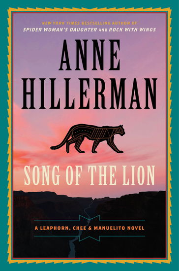 Song of the Lion - A Leaphorn Chee & Manuelito Novel - cover